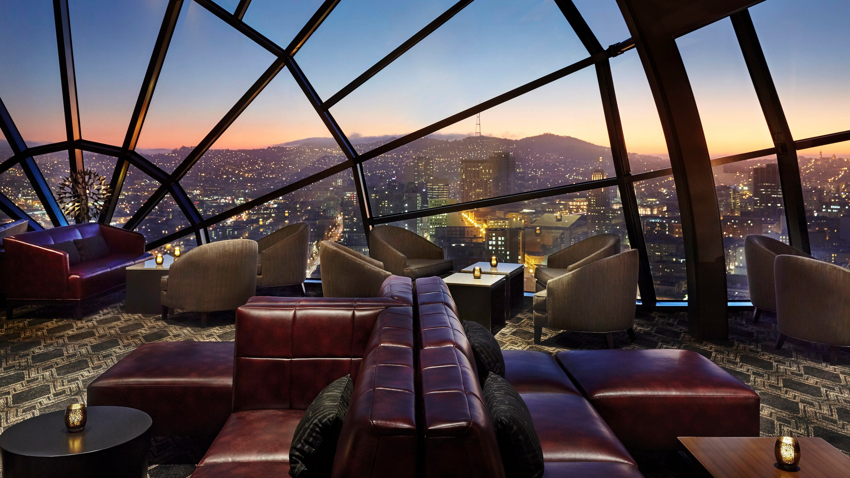View Lounge at the Marriott Marquis