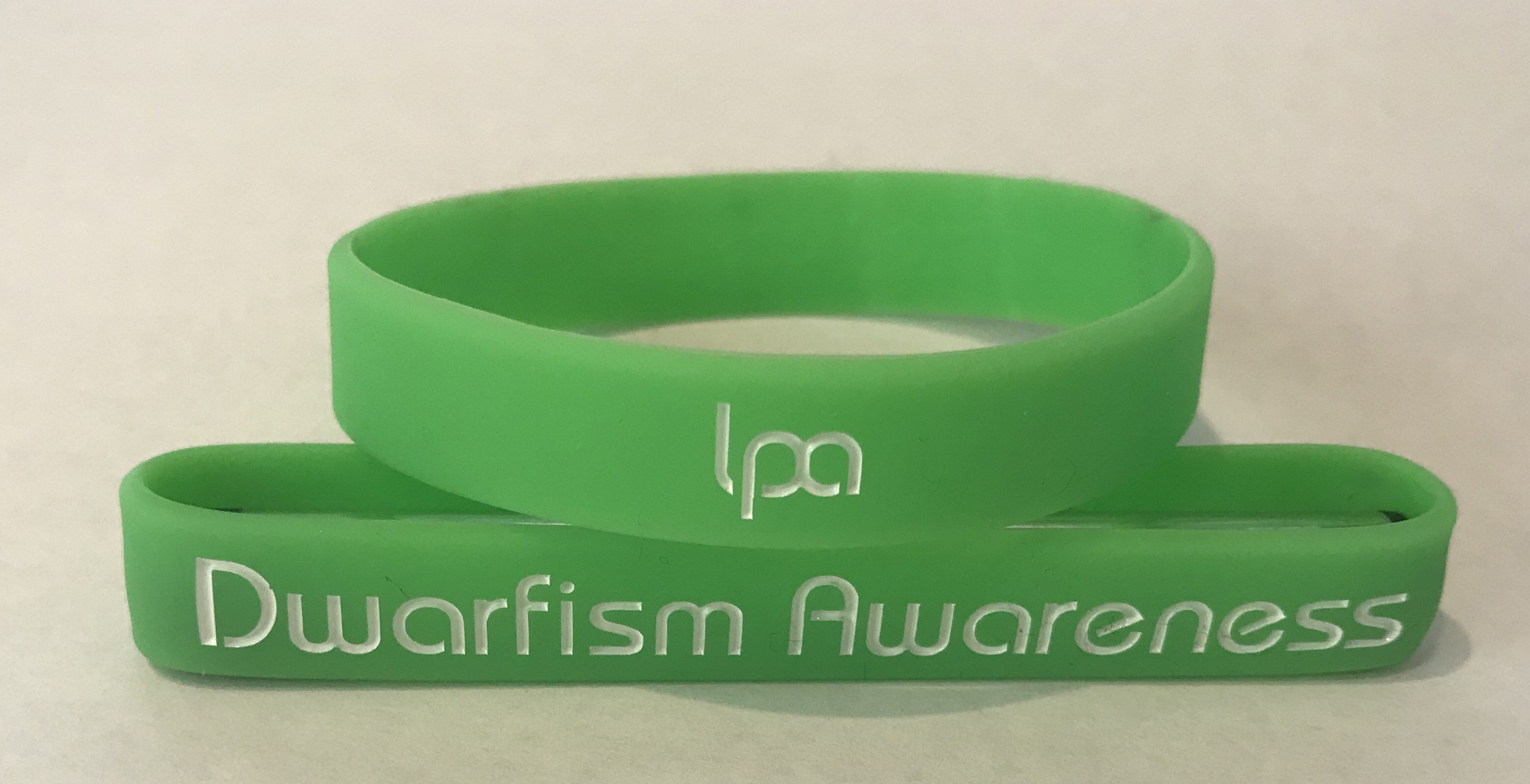 Dwarfism Awareness Wristbands