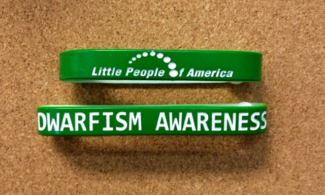 Dwarfism Awareness Bracelets